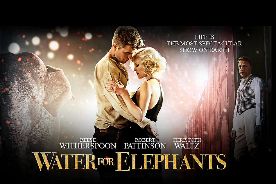 Dottor Robert Pattinson Il Trailer De Lacqua Per Gli Elefanti