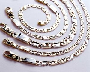 bracciale oro bianco per uomo
