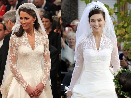 Vestiti Da Sposa Kate Middleton.Kate Middleton Sposa L Abito Ricorda Quello Di Isabella Orsini