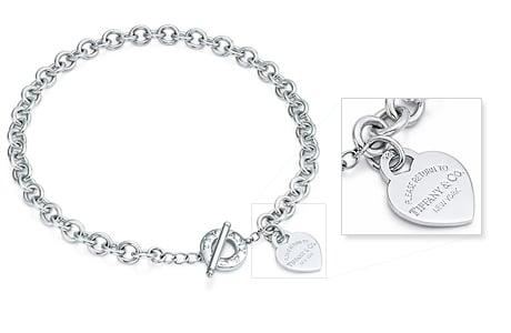 data di rilascio ef848 f554c Tiffany & co: collana, bracciale, cuore, prezzi, come ...