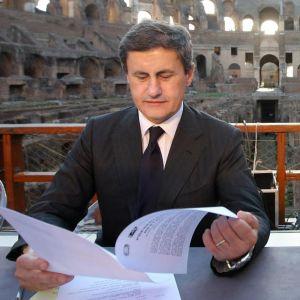 Presentazione del progetto per il restauro del Colosseo