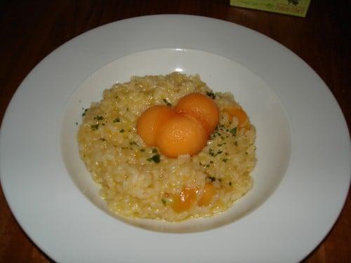 risotto melone