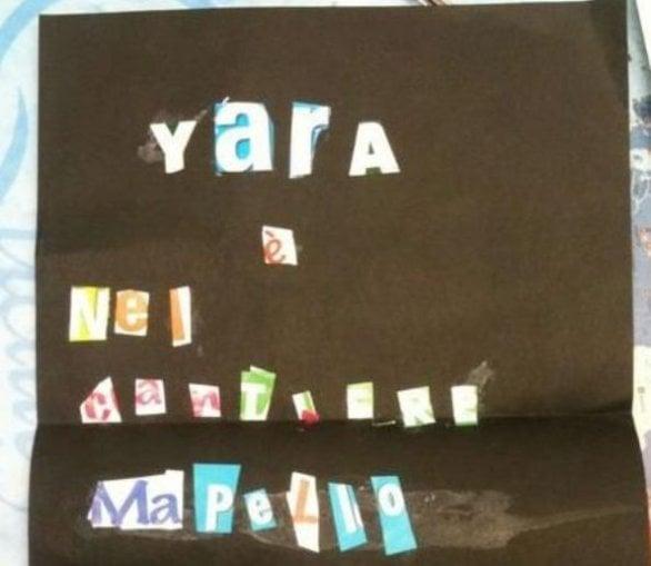 messaggio_Yara