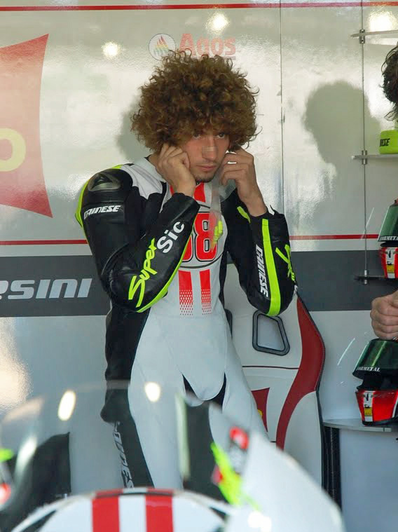 Marco makes ready for his MotoGP test