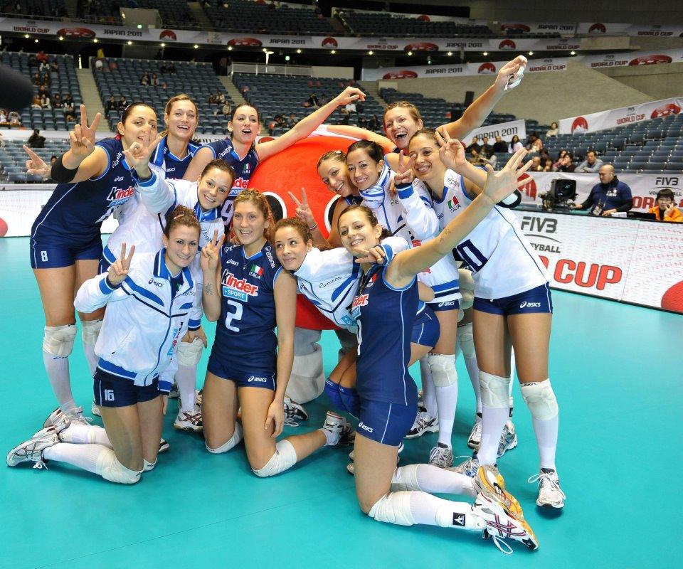 ITALIA PALLAVOLO FEMMINILE 2011 WORLD CUP