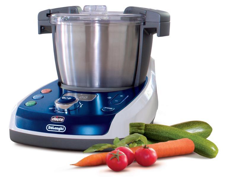 Robot Da Cucina Chicco De Longhi Nasce Baby Meal