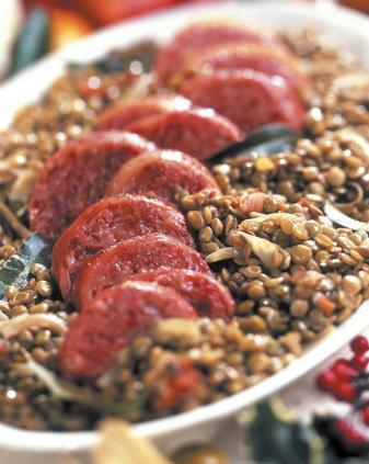 Come cucinare il cotechino con le lenticchie - Cucinare le lenticchie ...