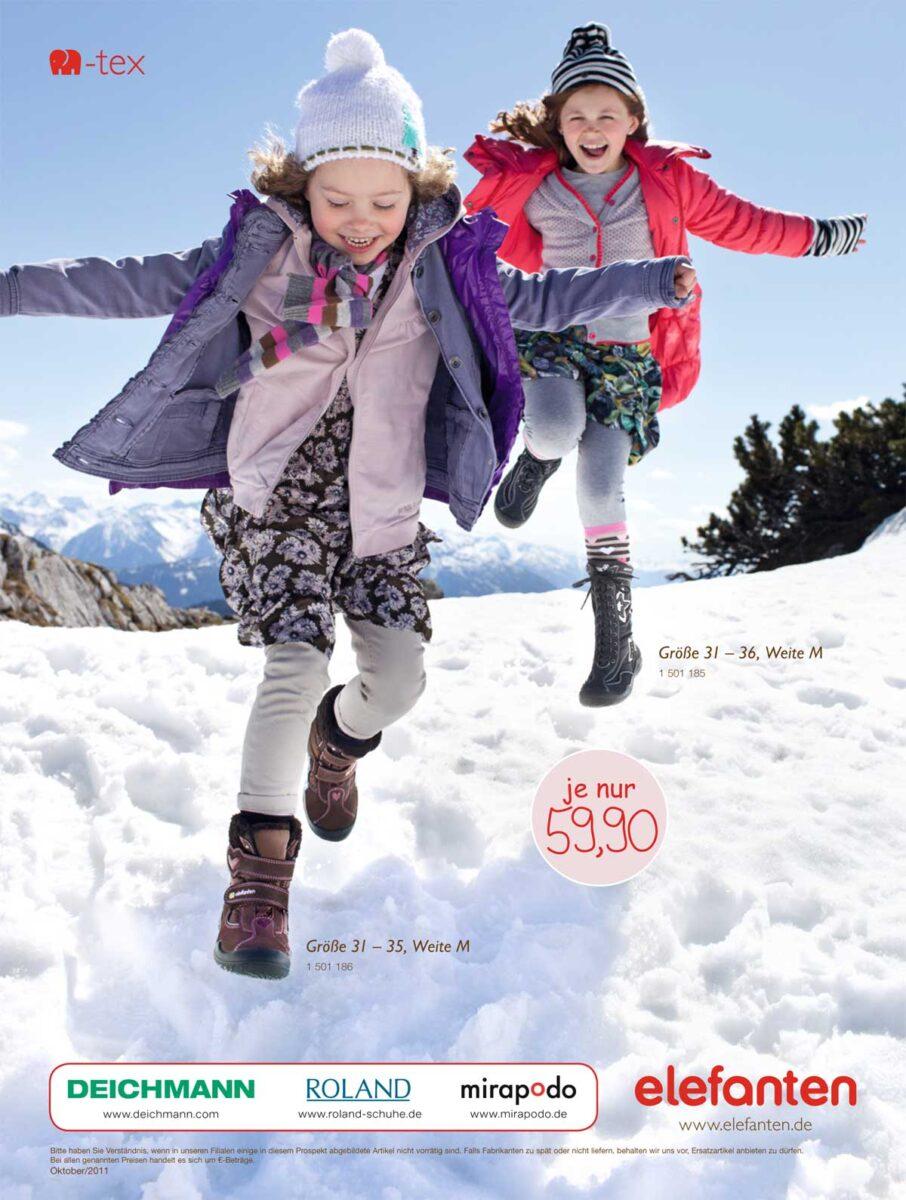 Moda bambini e bambine scarpe inverno 2012