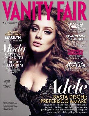 adele copertina vanity