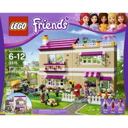 lego friends doll