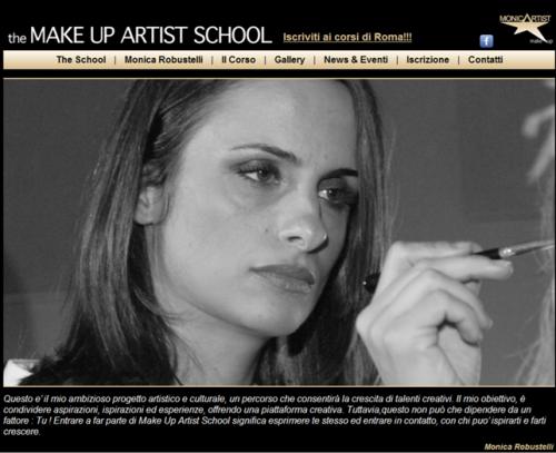 """Monica Robustelli inaugura la scuola di Trucco """"The Makeup Artist School"""""""