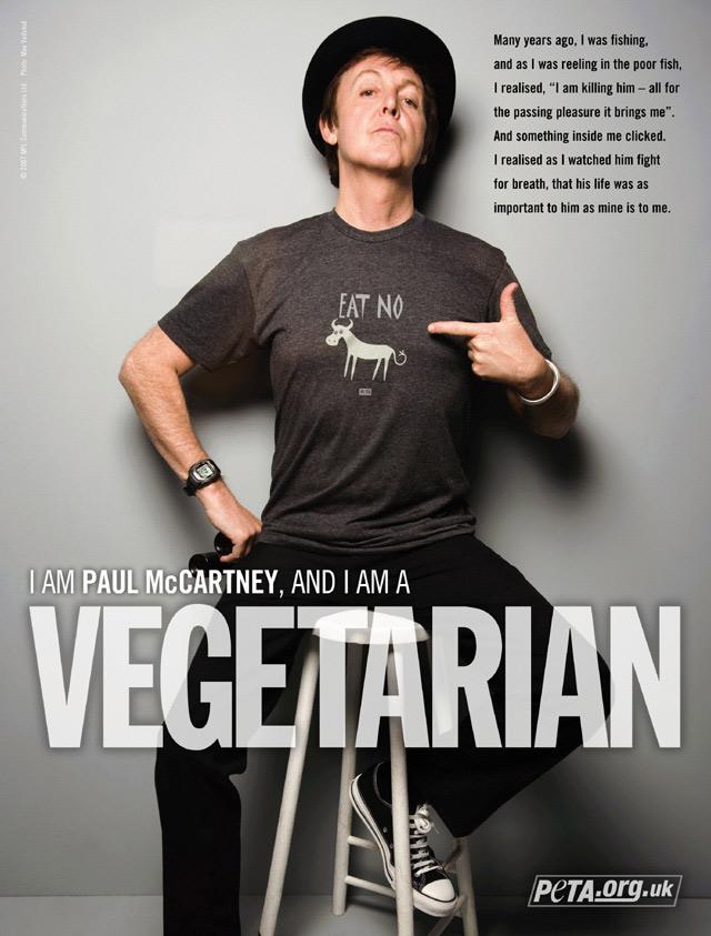 PAUL mccartney vegan