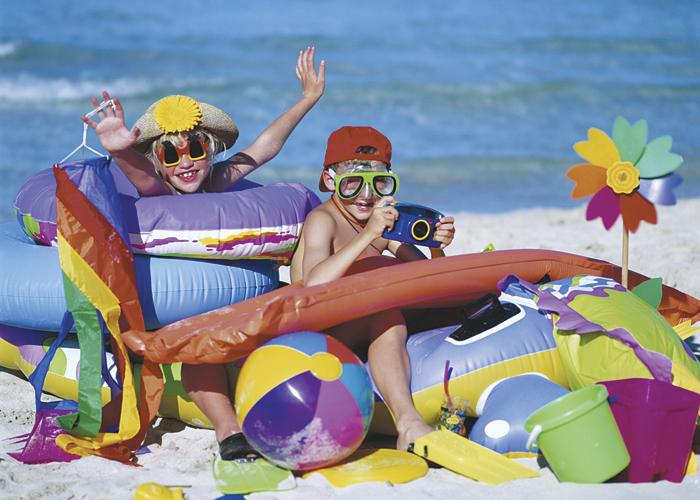 5 giochi da fare in spiaggia con i bambini