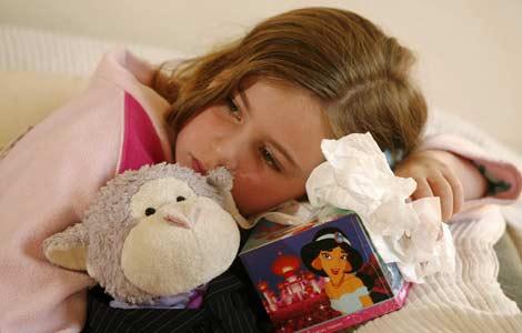 Raffreddore nei bambini, un aiuto dell'echinacea?