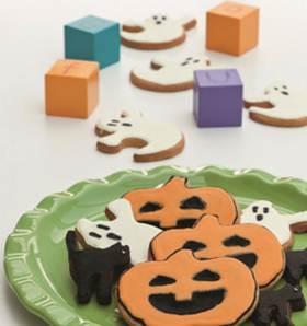 Ricette dolci di Halloween: biscotti fantasmini