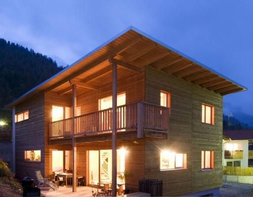 Il legno in Alto Adige/Südtirol è davvero indoor e outdoor.