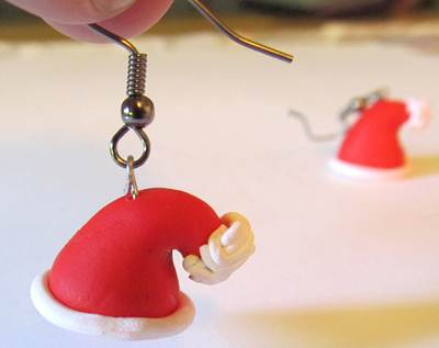 Idee regalo Natale 2012: orecchini in fimo fai da te