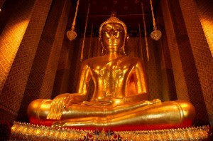 Largest sitting Buddha in Thailand