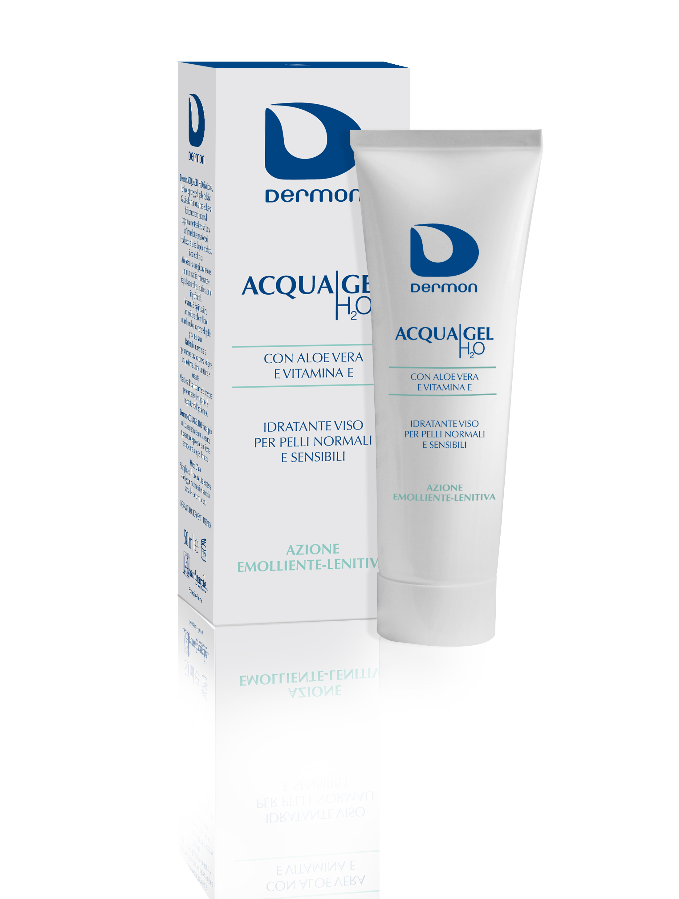 Nuova crema idratante viso Dermon Acqua Gel H2O da Avantgarde