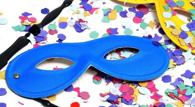 Dolci per bambini: coriandoli di Carnevale