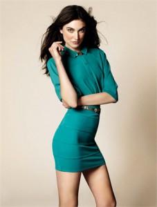 minidress-smeraldo-OVS-inverno-2013
