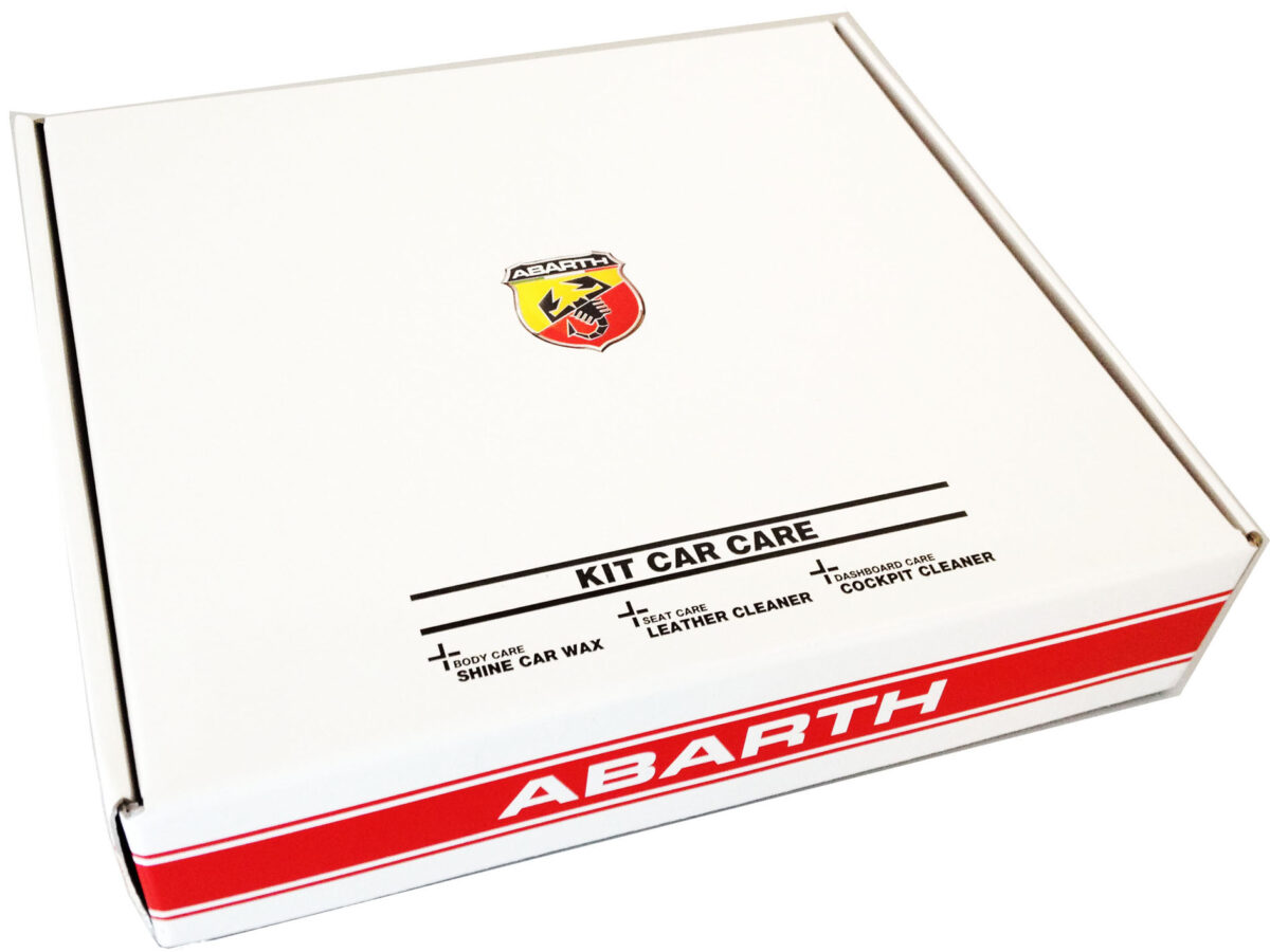 ABARTH - Cofanetto Abarth Kit Car Care-2