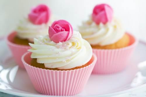 Cupcake con le rose per la Festa della mamma