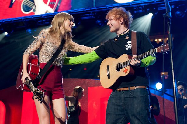 Taylor Swift and Ed Sheeran-1737202