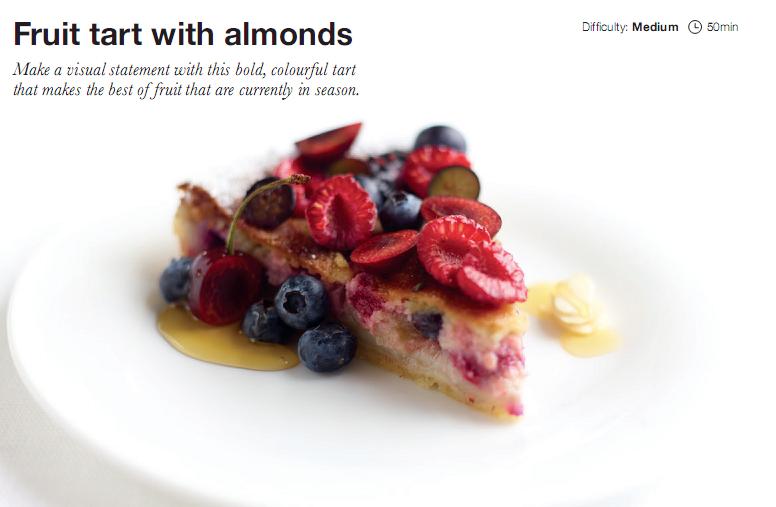 fruit tart Electrolux