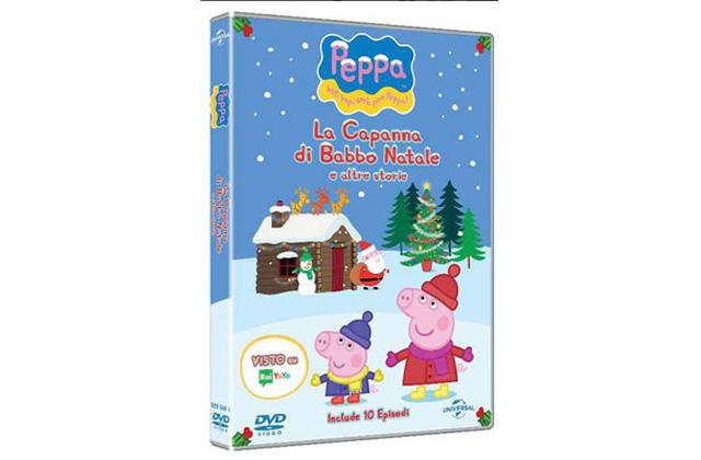 Peppa Pig, arriva il dvd La Capanna Di Babbo Natale