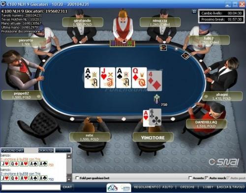 Casin qual 39 l 39 abbigliamento pi adatto for Tavolo poker