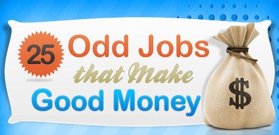 I lavori più pagati e folli! [INFOGRAFICA]