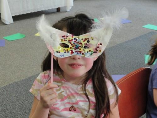 Maschera di Carnevale da coniglietto, tutorial