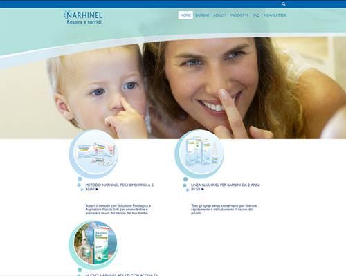 Narhinel, il sito di Novartis con consigli e aggiornamenti utili per i genitori