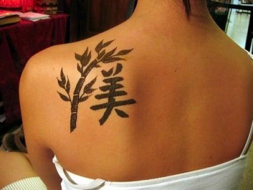 Ideogramma cinese tatuaggio