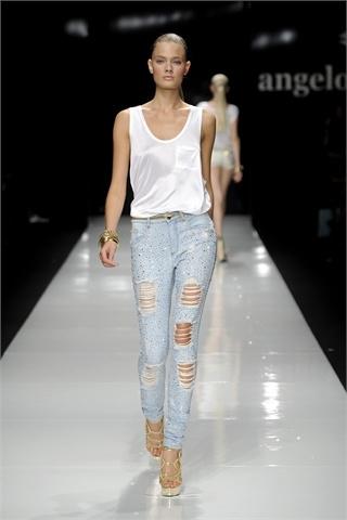 Jeans strappati: come fare