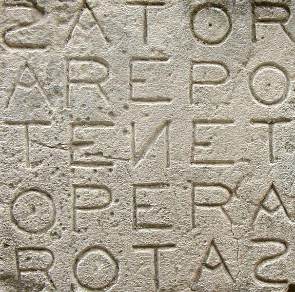 Sator Arepo Tenet Opera Rotas Significato: un segreto esoterico!