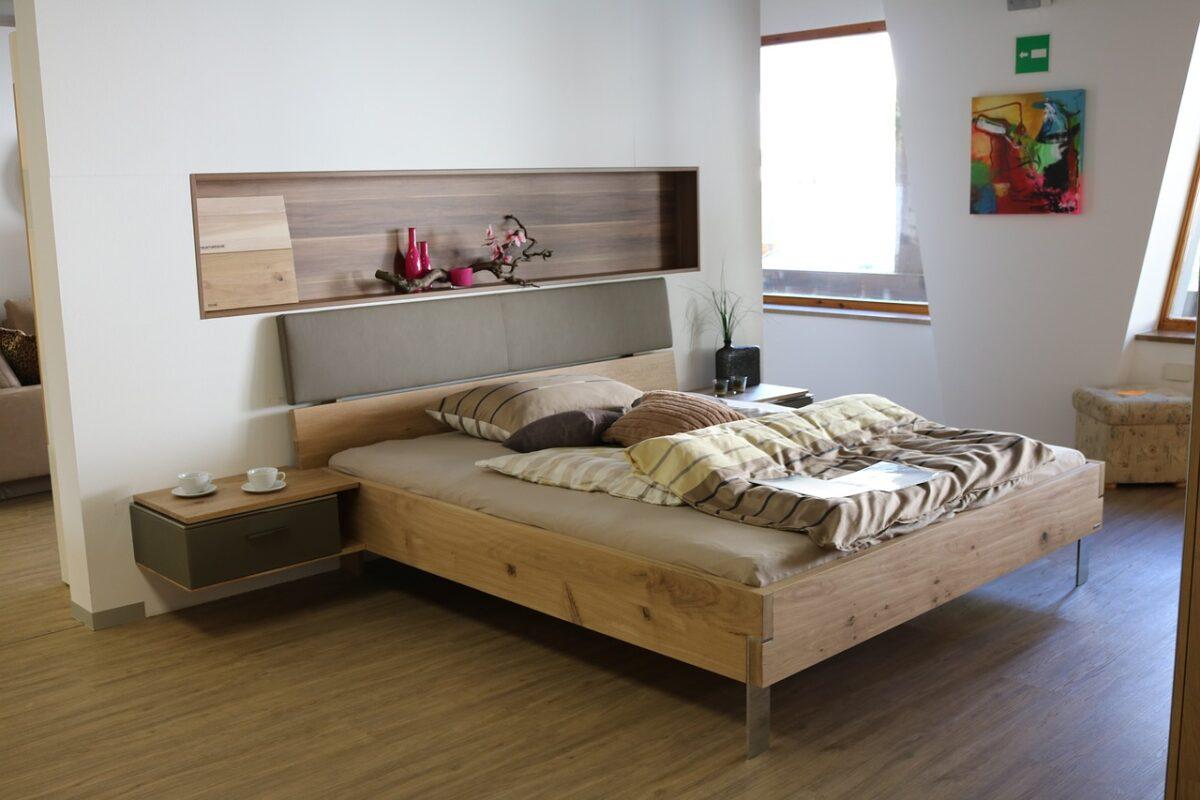 camera da letto moderno
