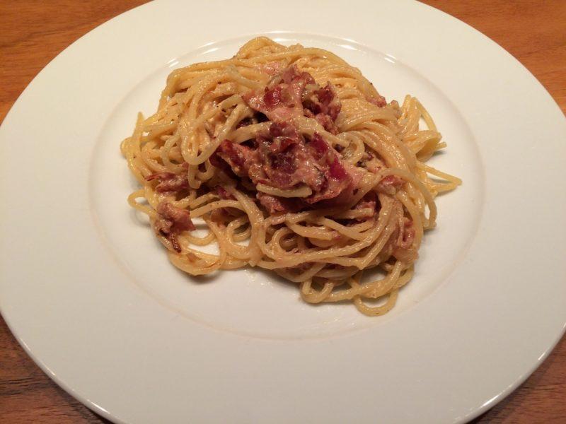 La ricetta originale degli spaghetti alla carbonara