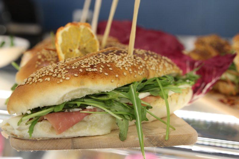 Ingredienti per il panino alla Rustichella