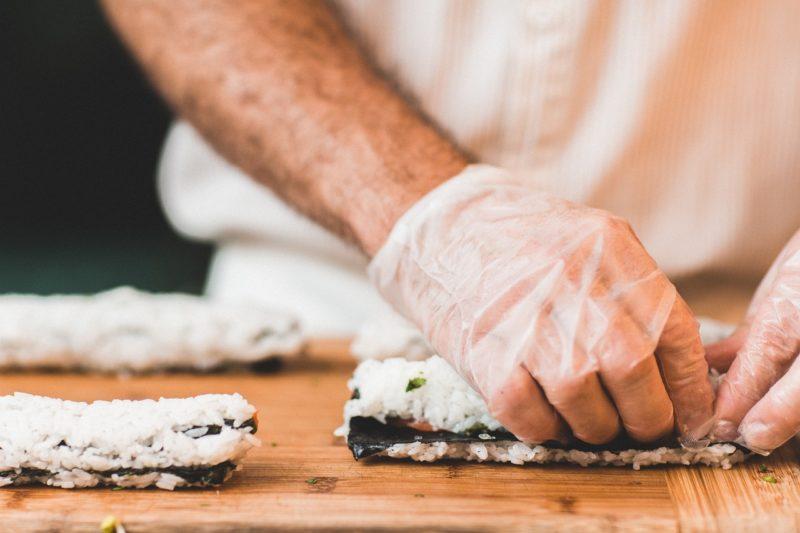 Sushi ricetta facile con il riso