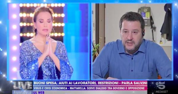 Barbara-DUrso-Salvini