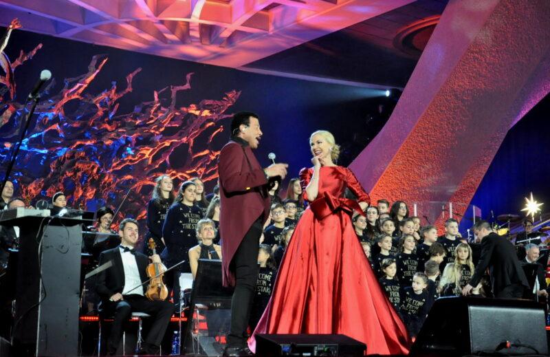 Federica Panicucci dal Papa per il concerto di Natale