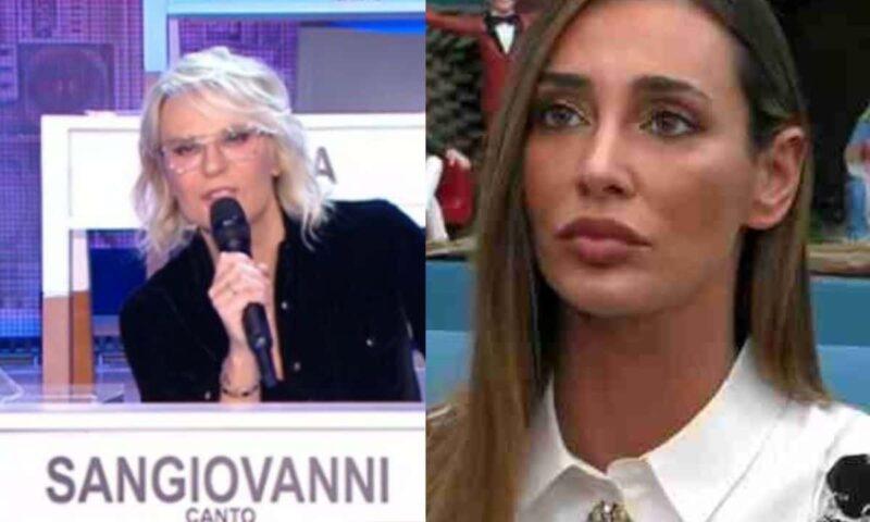 GF Vip, Maria De Filippi snobba la Lorenzini: cosa sarà successo?