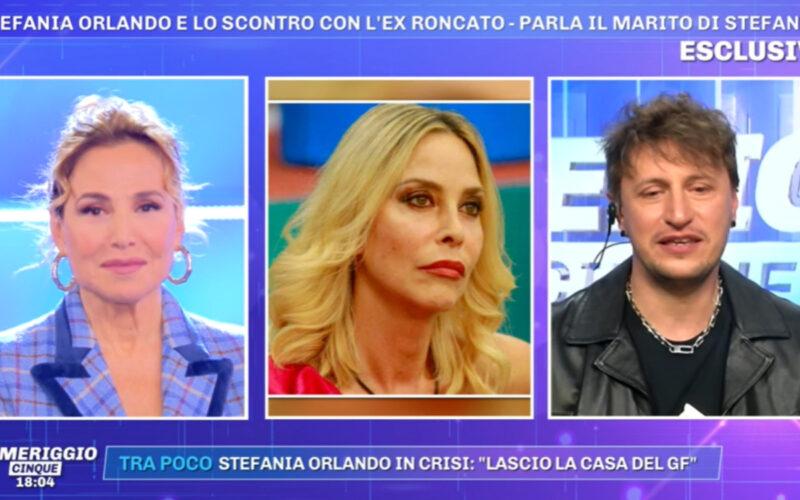 Pomeriggio 5: il marito della Orlando risponde a Roncato