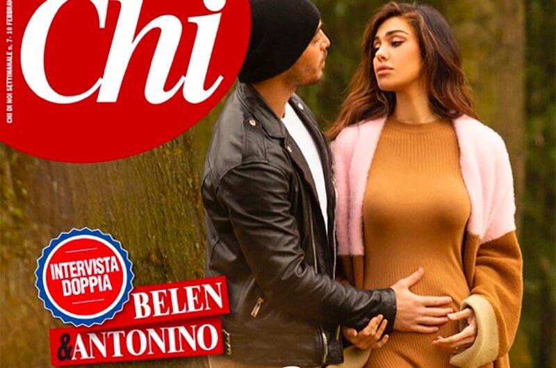 Belen incinta di Antonino: la conferma in un'intervista