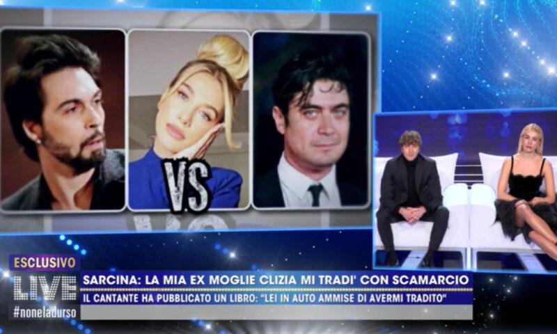 """Live Non è la d'Urso, Clizia Incorvaia: """"Non ho mai tradito Sarcina"""""""