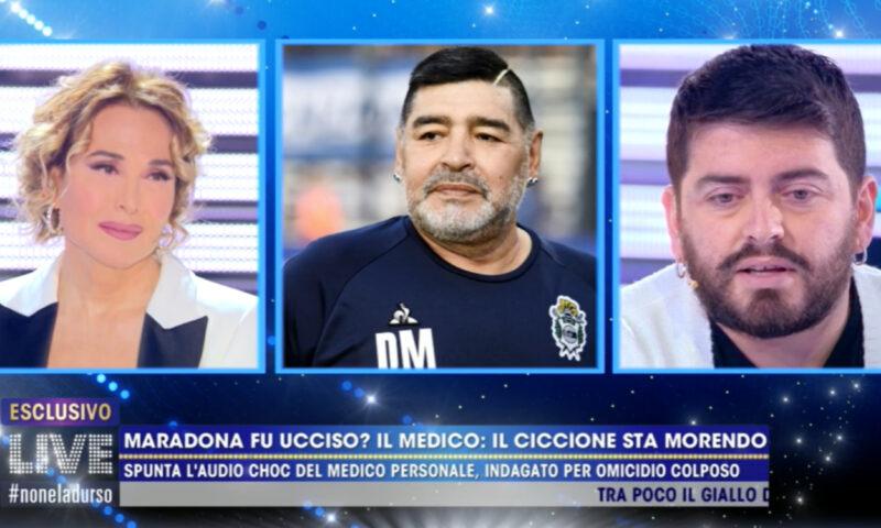 """Live! Non è la d'Urso, Maradona Jr: """"Situazione assurda"""""""