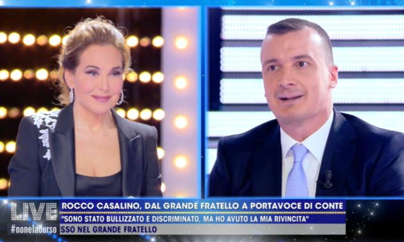 """Live Non è la d'Urso, Rocco Casalino: """"Non sono solo quello del Grande Fratello"""""""