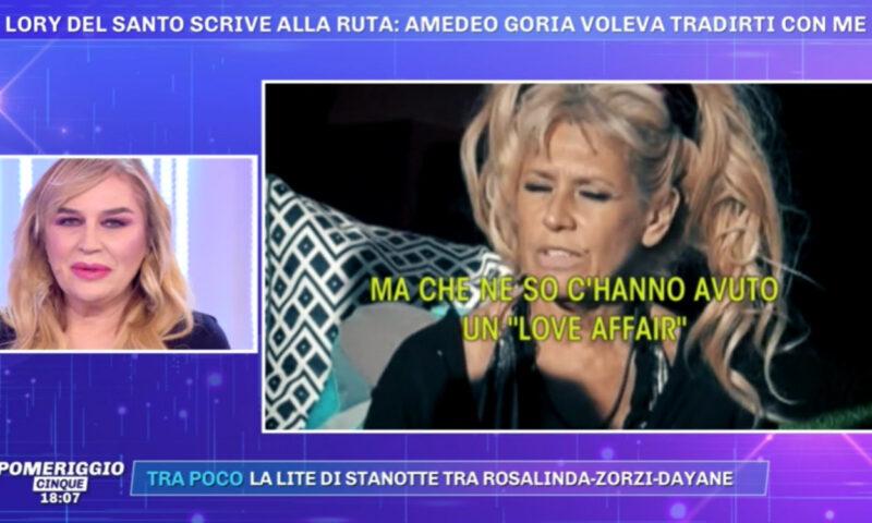 """Pomeriggio 5, Lory del Santo: """"Amedeo Goria mi ha corteggiato"""""""
